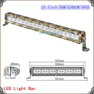 90W CREE Camouflages LED Light Bar for Trucks (LED12-90W) pictures & photos