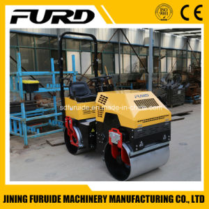 1 Ton Ride on Double Drum Hydraulic Vibratory Roller Compactor pictures & photos