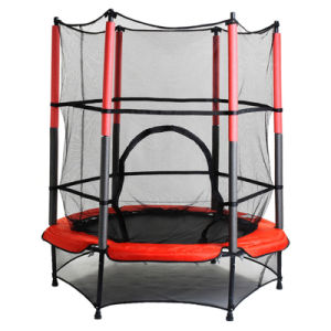 Hot Selling: Red Round Fitness Trampoline pictures & photos