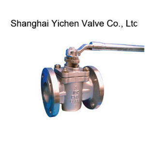 Stainless Steel Flanged End PTFE Lined Sleeve Plug Valve (X43F) pictures & photos