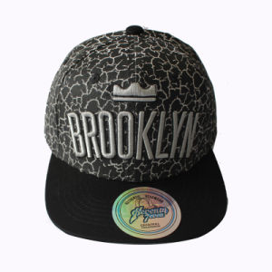 Cotton Snapback Cap with White Printing and Embroidery Logo (GKA15-F00039) pictures & photos