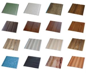 Hot Sales 25cm Width Lamination PVC Wall Panels with Construction Materials pictures & photos