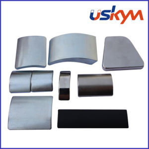 Nickel Arc Neodymium Magnet (A-004) pictures & photos