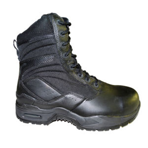 Military Outdoor High Quality Tactical Hiking Safety Waterproof Solid Boots