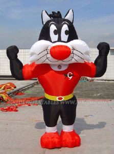Inflatable Cat Costume, Inflatable Cartoon Balloon (K6002) pictures & photos