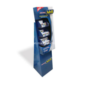 Corrugated Paper Table Rotating Display Stand/Rotating Counter Display pictures & photos