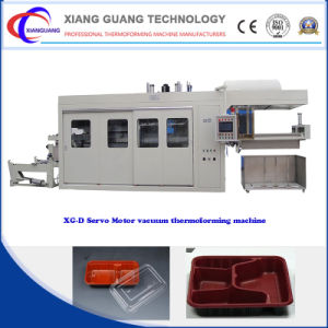 Full Automatic Plastic Food Container Themoforming Machinery pictures & photos