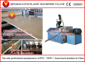 PVC WPC Foam Board Extrusion Machine pictures & photos