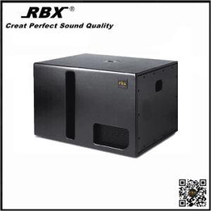 RF-115b Slim Black 18 Inch 4 Ohm Nexo Subwoofer Speaker