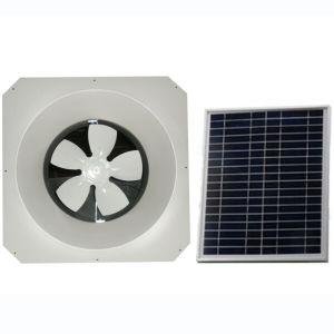 Wall Mounted Solar DC Ventilator with Brushless Motor (G-602) pictures & photos