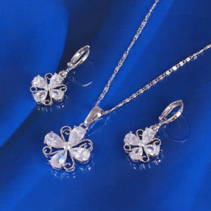 Xuping Lucky Clover Jewelry Set (61179) pictures & photos