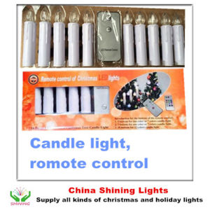 Christmas Tree Decoration LED Candle Lights Remote Control Wireless pictures & photos