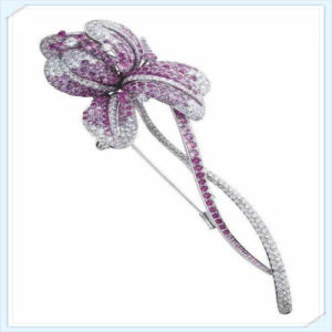 New Design Leaves Shaped Fashion Jewellery Brooch pictures & photos