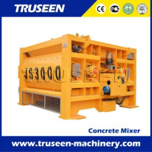 Js3000 Twin Shaft Concrete Mixer Concrete Mixing Machine Construcrtion Equipment pictures & photos