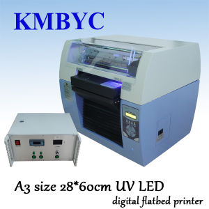 A3 Size High Speed UV LED Digital Flatbed Printer pictures & photos