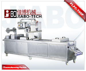 Sliced Duck Ham Vacuum Thermoforming Packaging Machine pictures & photos