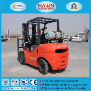 LPG & Gasoline Forklift Truck (Nissan Engine, 3.0Ton) pictures & photos