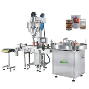 Fully Automatic Linear Two Nozzel Screw Filling Packing Machine pictures & photos