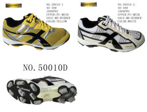 No. 50010 Men′s Big Size Football Shoes Stock 40-48# pictures & photos