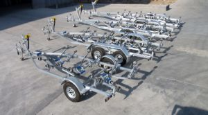 5800 Hot DIP Galvanized Roller Boat Trailer (5800) pictures & photos