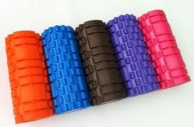EVA Grid Foam Roller, Hollow Yoga Pilates Massage Foam Roller pictures & photos