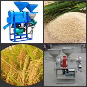 Professional Manufacture Home Use Small Model Rice Mill pictures & photos
