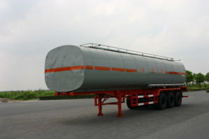 45500L SUS Tank Transportation for Chemical Fluid Delivery (HZZ9402GHY) pictures & photos