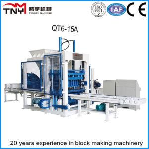 Fully Automatic Cement/Concrete Block Making Machine (QT6-15A) pictures & photos