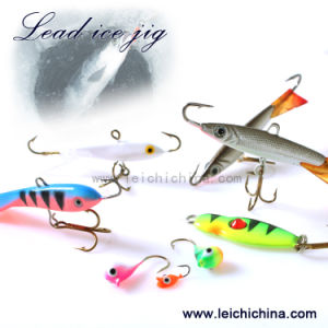 Ice Fishng Lure Lead Ice Jig pictures & photos