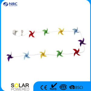 Solar String Festival Light with 10 PCS White LED pictures & photos