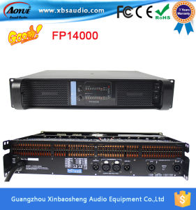 High Quality 2 Channels Stereo Professional Power Amplifier Fp14000