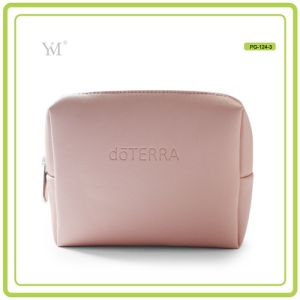 Promotional Good Quality Custom Printing PVC Leather Cosmetic Makeup Bag pictures & photos