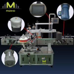 Full Automatic Flat Bottle Double Side Labeling Machine pictures & photos