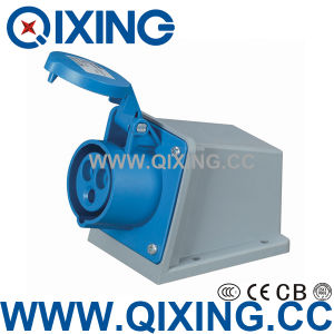 Surface Mounted Socket for International Standard (QX-1421) pictures & photos