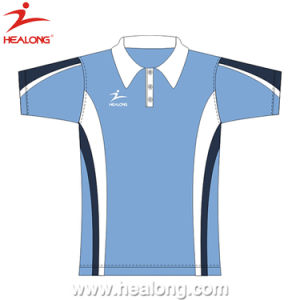 Healong Durable Fully Dye Sublimation Polo Shirt Sublimation pictures & photos