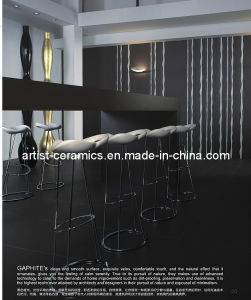 High Quality Super Black Polished Porcelain Ceramic Floor Tile pictures & photos