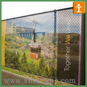 Polyester Fabric Mesh Banner for Barrier or Fence (TJ-OB-033) pictures & photos