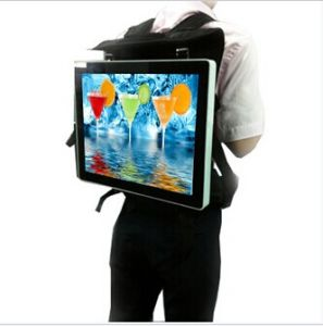 15.6inch Backpack LCD Player pictures & photos