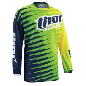 Green Customized Polyester Sublimation Motorcycle Jersey (MAT38) pictures & photos