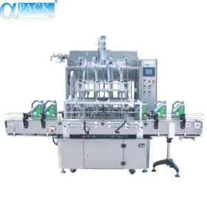 Automatic Luquid Filling Machine with Capping & Labeling pictures & photos