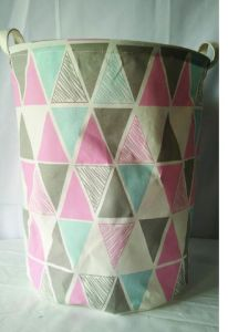Durable Folding Fabric Storage Basket with Customized Design pictures & photos