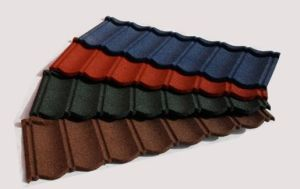 Stone Coated Metal Roofing Sheets with Prices 1220X2440 pictures & photos