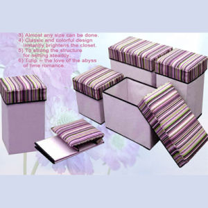 Storage Stool, Storage Basket Stool pictures & photos