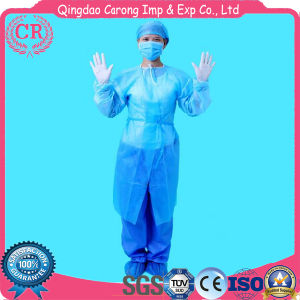 Medical Clothing Sterilized Disposable Surgical Gown pictures & photos