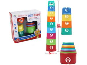 8 Packs of Toddler Toy Building Blocks Cup pictures & photos