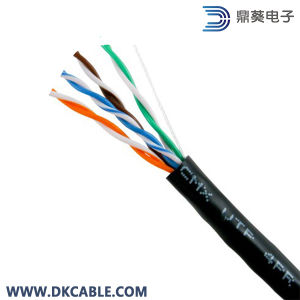 Network LAN Cable Cat5e with PE Sheath and Messenger Outdoor pictures & photos