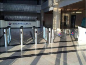 Bank Security Gate Swing Barrier Turnstile for Bi-Directional Access Control pictures & photos
