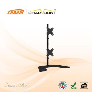 """Table Mount TV Bracket for 10""""-25"""", Factory Supply LCD TV Mount (CT-LCD-DS1202) pictures & photos"""