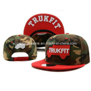 High Quality Custom Camo Fabric New Snapback Era Cap pictures & photos