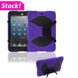 Survivor Armor Rubber Stand Case Tablet Cover for iPad Mini 123